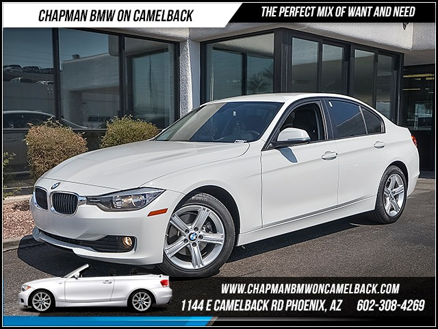 2014 BMW 3-Series Sdn 320i 47943 miles 6023852286 12th St and Camelback Chapman BMW on Cam