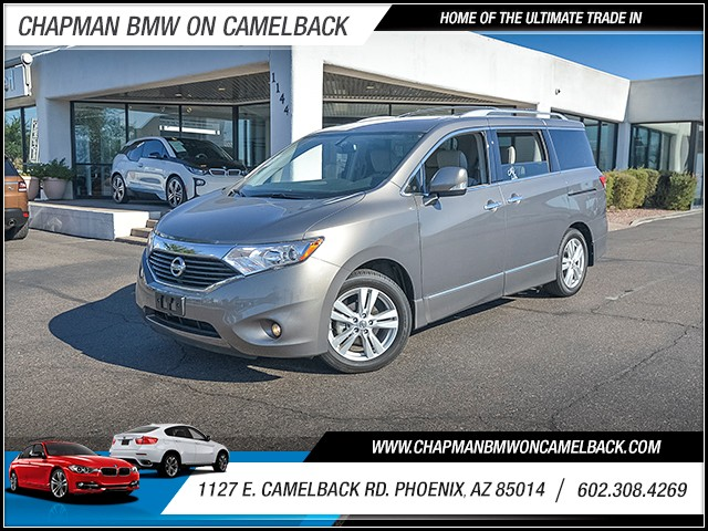 2014 Nissan Quest 35 SL 8076 miles Phone hands free Wireless data link Bluetooth Cruise contro