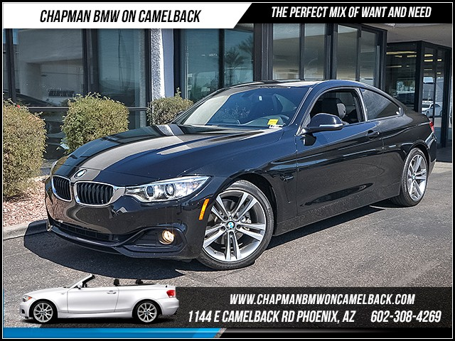 2014 BMW 4-Series 428i 23815 miles Sport Line Satellite communications BMW Assist Wireless data