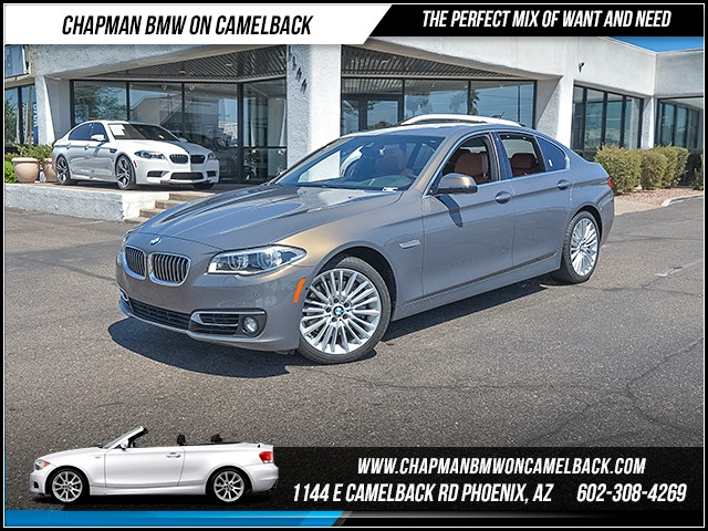 2014 BMW 5-Series 550i 27425 miles Luxury Line Cold Weather Package Driving Assistance Plus Dy