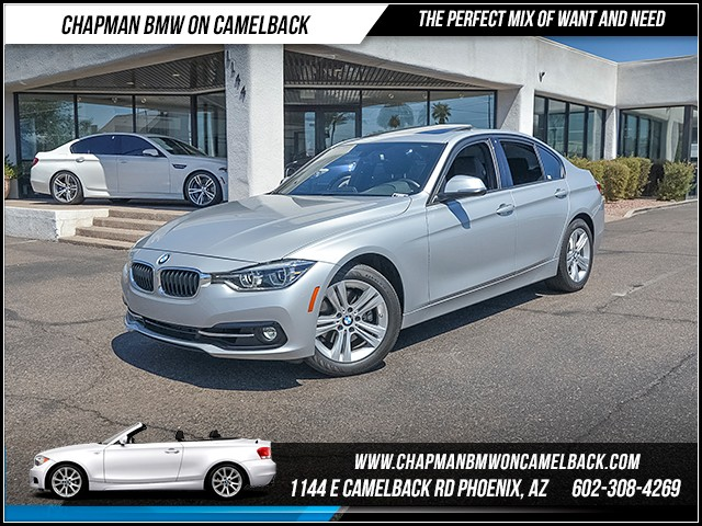 2016 BMW 3-Series Sdn 328i 13697 miles Sport Package Premium Package Driver assistance app road