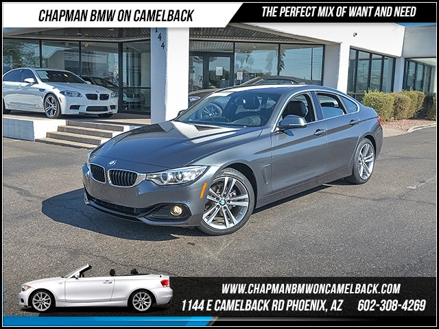 2017 BMW 4-Series 430i Gran Coupe 9650 miles Sport Line Premium Package Technology Package Dri