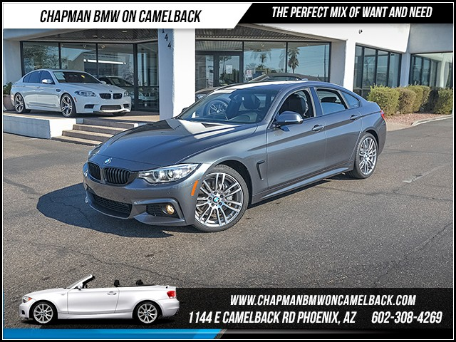 2017 BMW 4-Series 430i Gran Coupe 7643 miles M Sport Package Driving Assistance Package Phone h