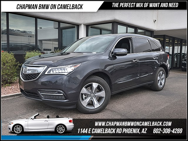2016 Acura MDX SH-AWD 21735 miles Chapman Value Center on Camelback is specializing in late model