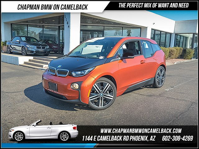 2015 BMW i3 29592 miles Mega World Park Assistance Package Wireless data link Bluetooth Satell