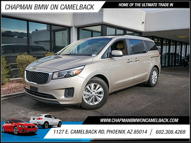 2017 Kia Sedona LX 39689 miles Wireless data link Bluetooth Phone voice operated Cruise control