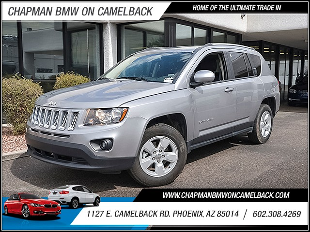 2016 Jeep Compass Latitude 34828 miles Wireless data link Bluetooth Cruise control 2-stage unlo
