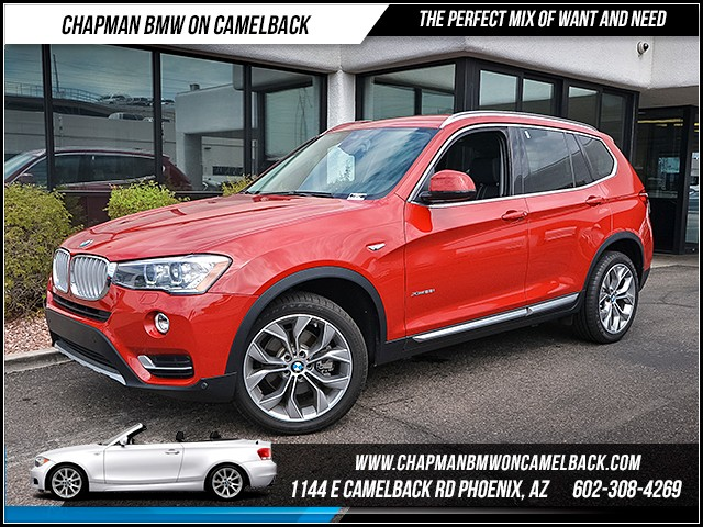 2017 BMW X3 xDrive28i 11201 miles 6023852286 - 12th St and Camelback Chapman BMW on Camelback