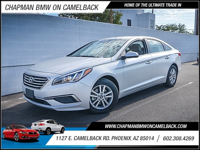 2017 Hyundai Sonata SE 39300 miles Wireless data link Bluetooth Driver assistance app roadside a
