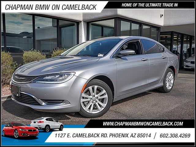 2015 Chrysler 200 Limited 41265 miles 6023852286 1127 E Camelback Rd Cha
