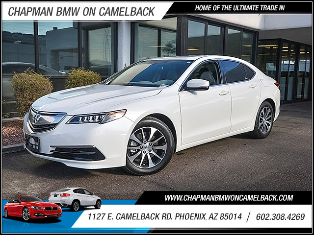 2015 Acura TLX 11821 miles Wireless data link Bluetooth Electronic messaging assistance with rea