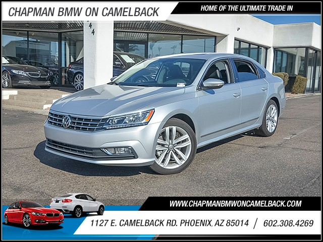 2016 Volkswagen Passat 18T SEL PZEV 7316 miles Chapman Value Center on Camelback is specializing