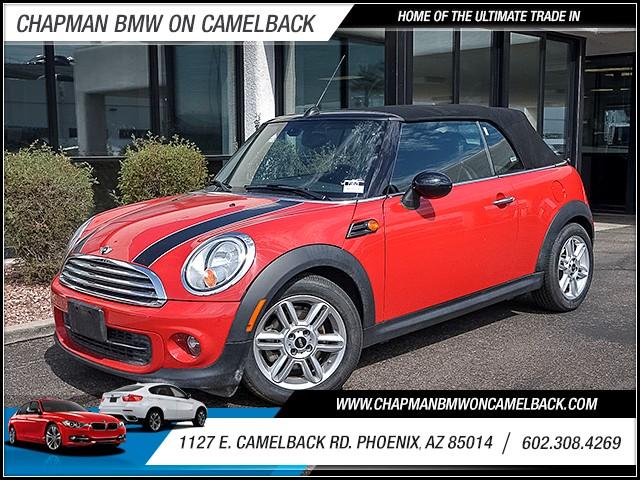 2015 MINI Convertible Cooper 31994 miles 6023852286 1127 E Camelback Rd Summer Monsoon Sales