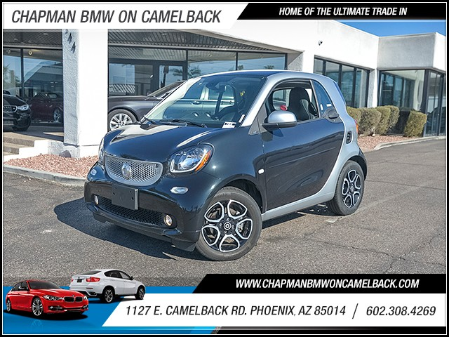 2016 Smart fortwo prime 9330 miles Chapman Value Center on Camelback is specializing in late mode