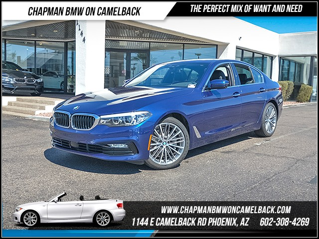 2017 BMW 5-Series 530i 7833 miles Sport Line Cold Weather Package Driving Assistance Package D