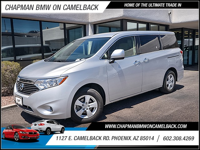 2015 Nissan Quest 35 SV 15964 miles Cruise control 2-stage unlocking doors Anti-theft system