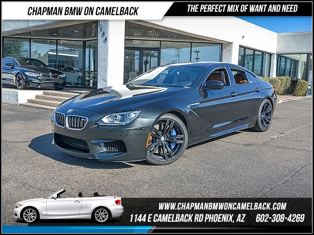 2014 BMW M6 Gran Coupe 32735 miles 6023852286 - 12th St and Camelback Chapman BMW on Camelback