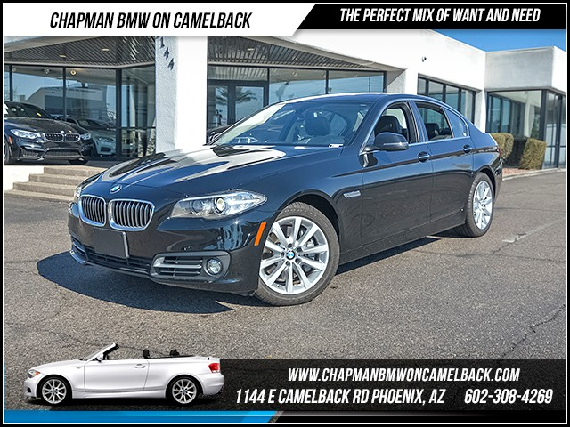 2016 BMW 5-Series 535i 4471 miles Premium Package Driver Assistance Package Wireless data link