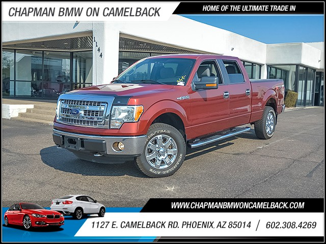 2014 Ford F-150 XLT Crew Cab 25740 miles Chapman Value Center on Camelback is specializing in lat