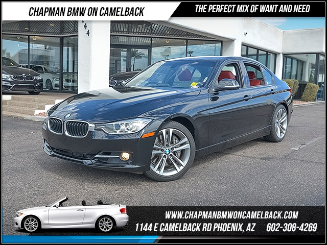 2014 BMW 3-Series Sdn 335i 42992 miles Sport Line Premium Package Heated front seats Phone han