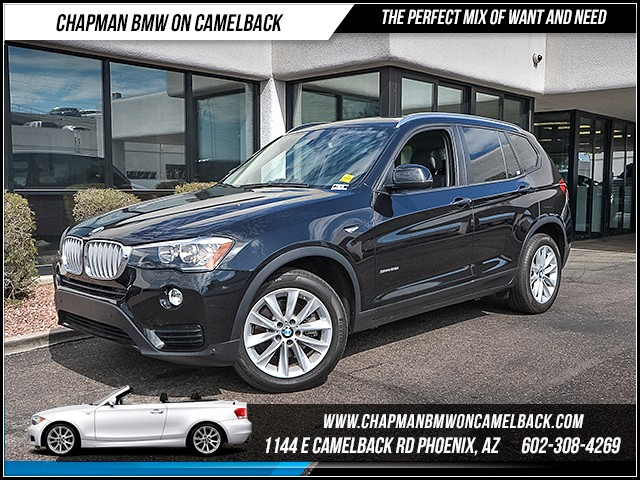 2015 BMW X3 sDrive28i 23054 miles Technology Package Driving Assistance Package Phone hands fre
