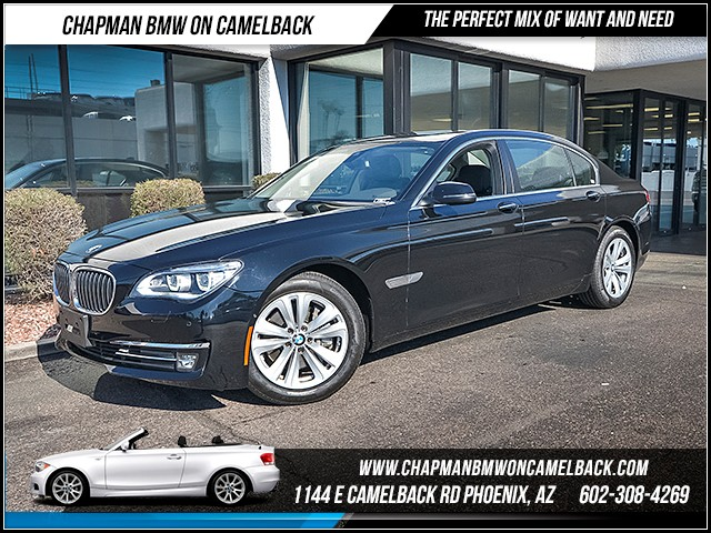 2015 BMW 7-Series 740Li 25162 miles Driving Assistance Plus Lighting Package Phone hands free