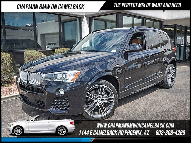 2015 BMW X3 xDrive35i 29972 miles M Sport Technology Package Premium Package Driving Assistanc