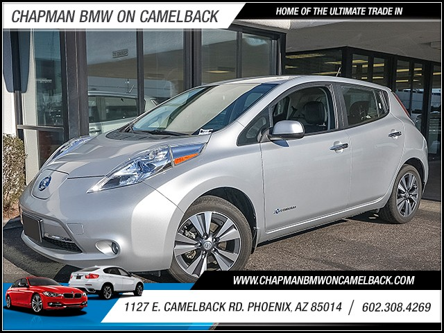 2015 Nissan LEAF SL 35249 miles Wireless data link Bluetooth Phone pre-wired for phone Cruise c