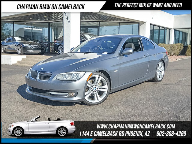2012 BMW 3-Series Cpe 328i 64262 miles Premium Package BMW Assist wBluetooth System Cruise con