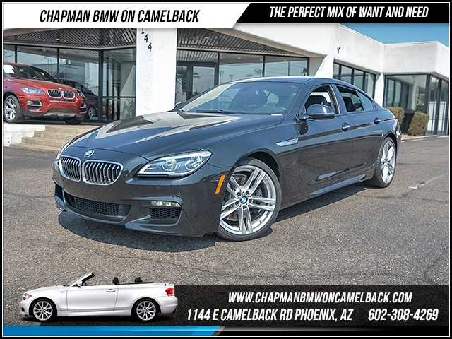 2016 BMW 6-Series 640i Gran Coupe 11069 miles 6023852286 Chapman BMW on Camelback CPO Sales