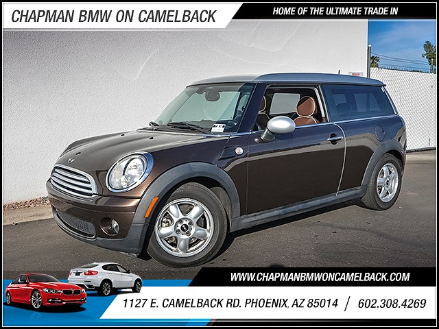 2008 MINI Cooper Clubman 97448 miles Power door locks Anti-theft system engine immobilizer 2-s