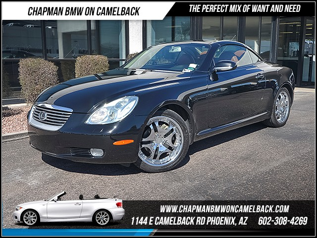 2003 Lexus SC 430 104971 miles Chapman Value Center on Camelback is specializing in late model cl