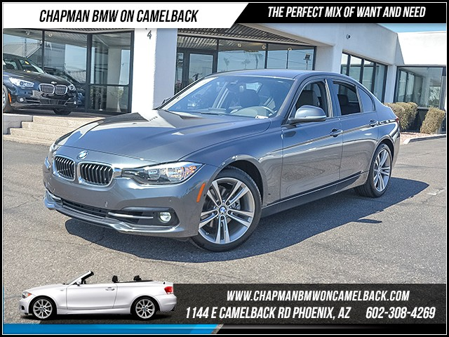 2016 BMW 3-Series Sdn 328i 12472 miles 6023852286 Chapman BMW on Camelback CPO Sales Event