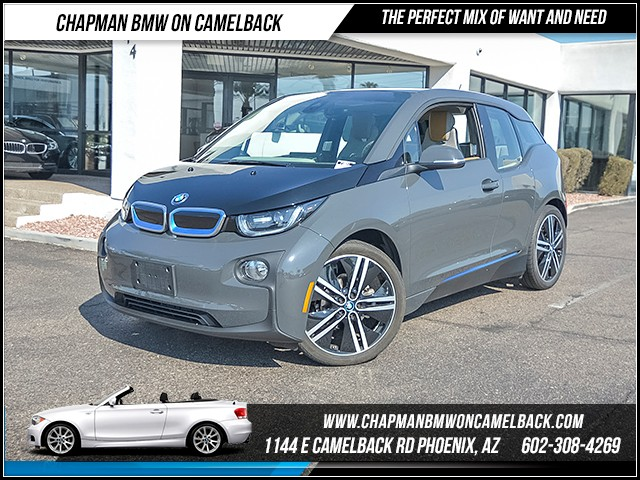 2015 BMW i3 Rex 24331 miles 6023852286 Chapman BMW on Camelback CPO Sales Event Over 200