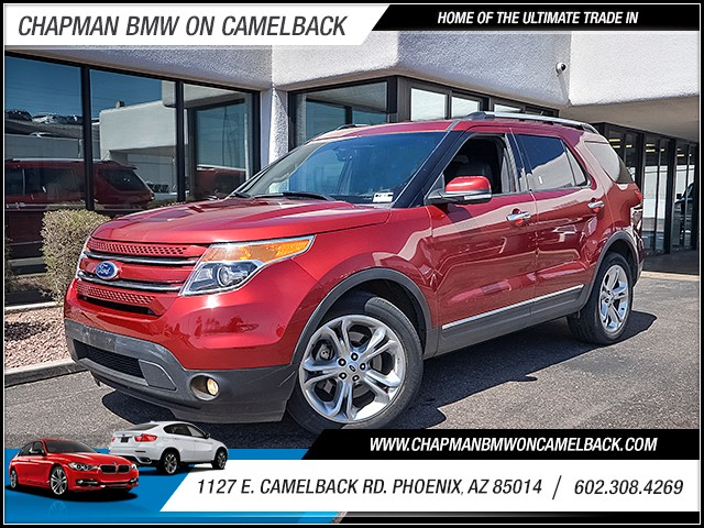2015 Ford Explorer Limited 33359 miles Chapman Value Center on Camelback is specializing in late