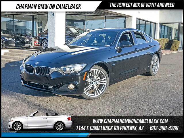 2017 BMW 4-Series 430i Gran Coupe 11681 miles Sport Line Driving Assistance Package Heated fron