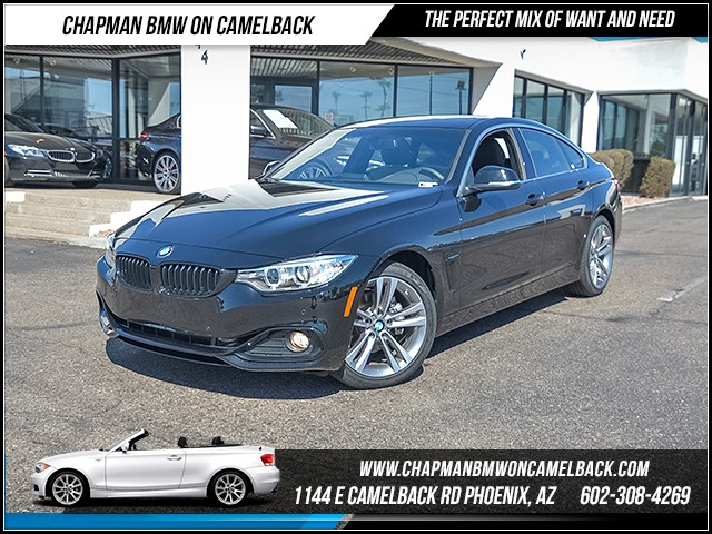 2017 BMW 4-Series 430i Gran Coupe 8640 miles Sport Line Driving Assistance Package Wireless dat