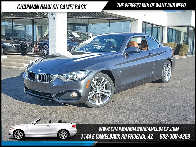 2017 BMW 4-Series 430i 6022 miles Sport Line Driving Assistance Package Technology Package Hea