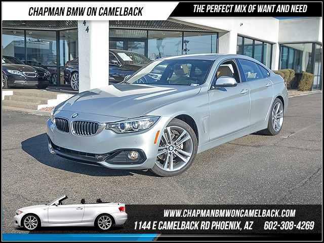 2017 BMW 4-Series 430i Gran Coupe 11838 miles Sport Line Driving Assistance Package Premium Pac