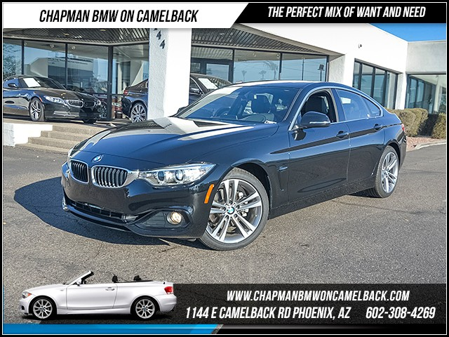 2017 BMW 4-Series 430i Gran Coupe 9067 miles Sport Line Technology Package Heated front seats