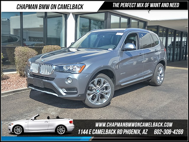 2017 BMW X3 sDrive28i 6655 miles 6023852286 Chapman BMW on Camelback CPO Sales Event Over