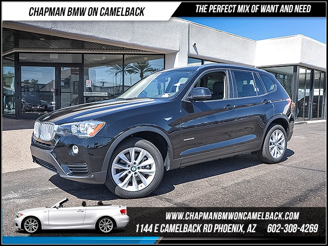 2017 BMW X3 sDrive28i 9526 miles 6023852286 Chapman BMW on Camelback CPO Sales Event Over