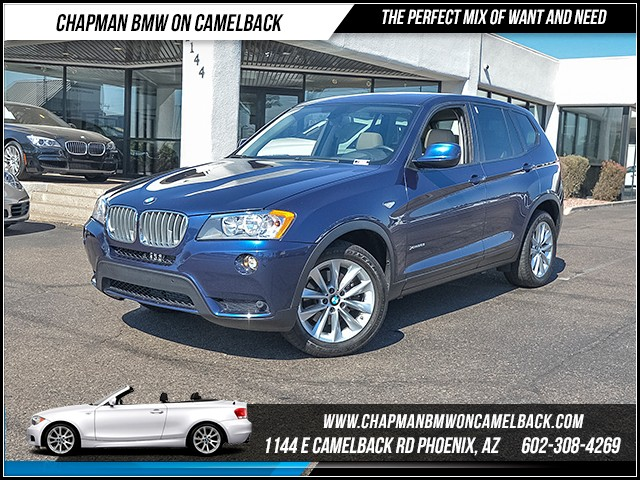 2014 BMW X3 xDrive28i 53415 miles Premium Package Technology Package Driving Assistant Package