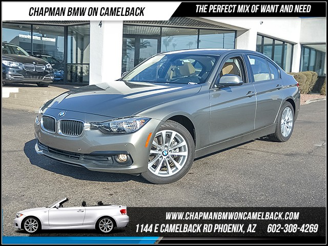 2017 BMW 3-Series 320i 8780 miles Premium Package Driver Assistance Package Satellite communica
