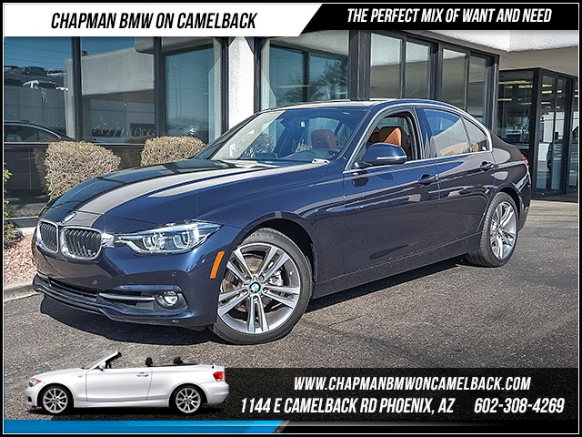 2017 BMW 3-Series Sdn 330i 12862 miles 6023852286 Chapman BMW on Camelback CPO Sales Event