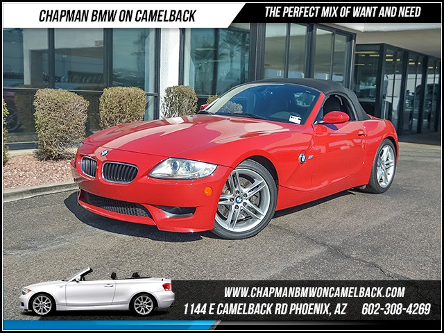 2008 BMW Z4 M 18587 miles Chapman Value Center on Camelback is specializing in late model clean p