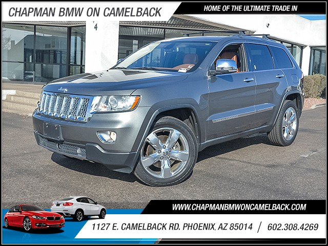 2011 Jeep Grand Cherokee Overland Summit 107162 miles Cruise control Navigation system touch scr