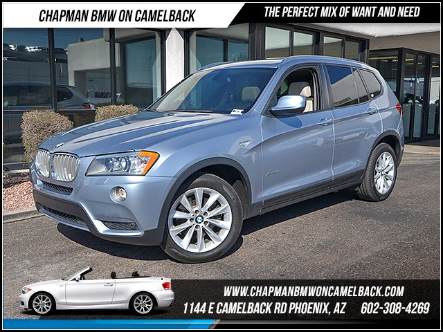 2014 BMW X3 xDrive28i 76795 miles Premium Package Driving Assistance Package Lighting Package