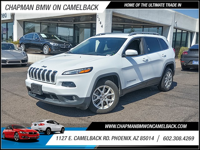 2016 Jeep Cherokee Latitude 40469 miles Chapman Value Center on Camelback is specializing in late
