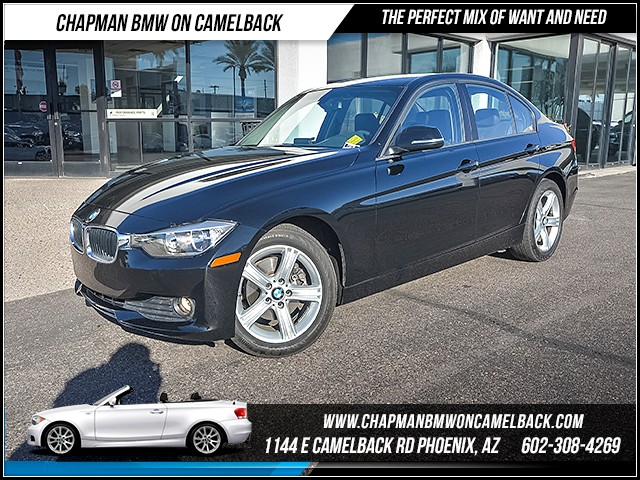 2014 BMW 3-Series Sdn 320i 27657 miles 6023852286 Chapman BMW on Camelback CPO Sales Event
